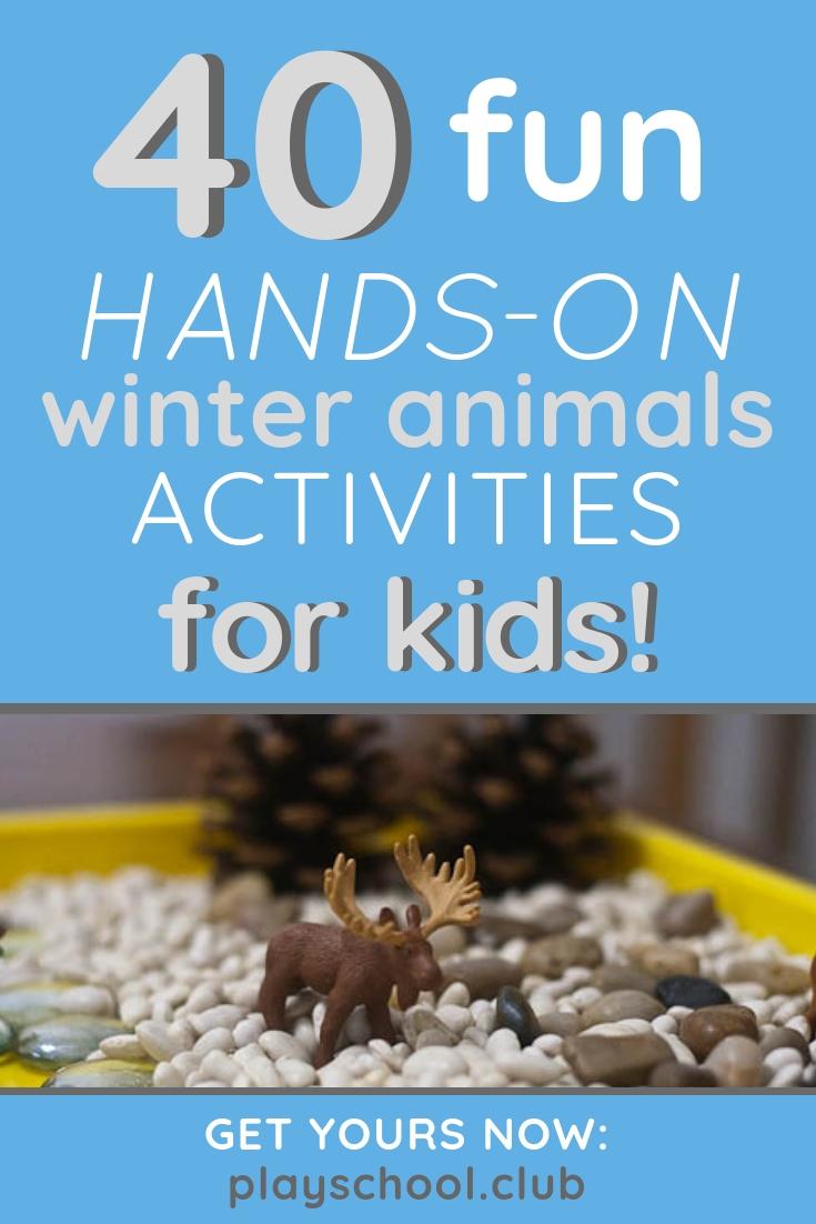 40 Fun Hands-On Winter Animals Activities for Kids