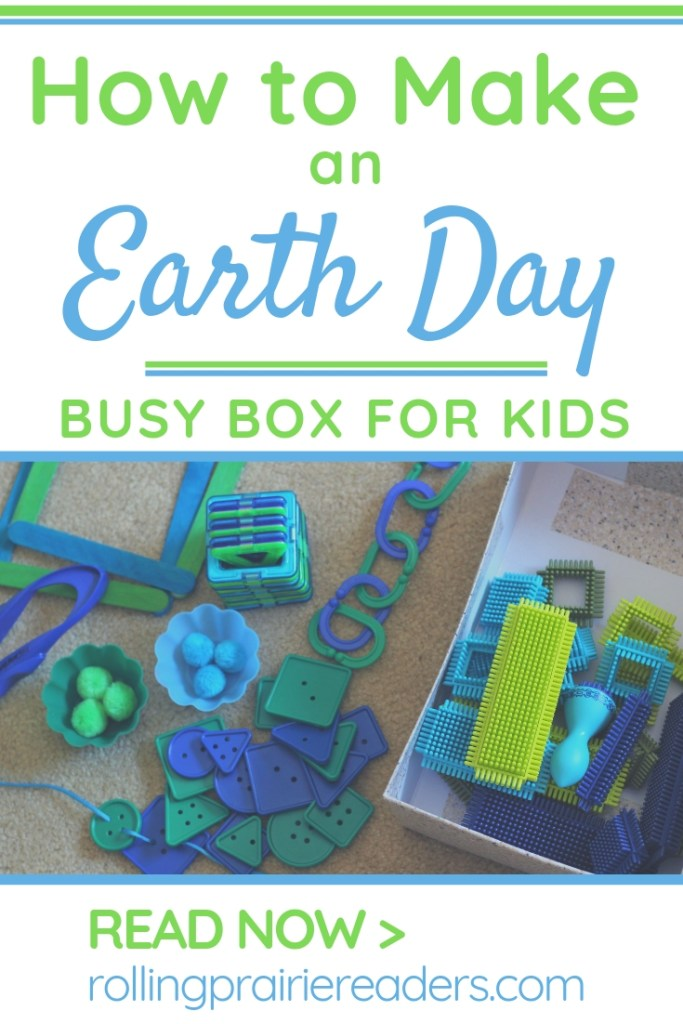 Earth Day Busy Box for Kids