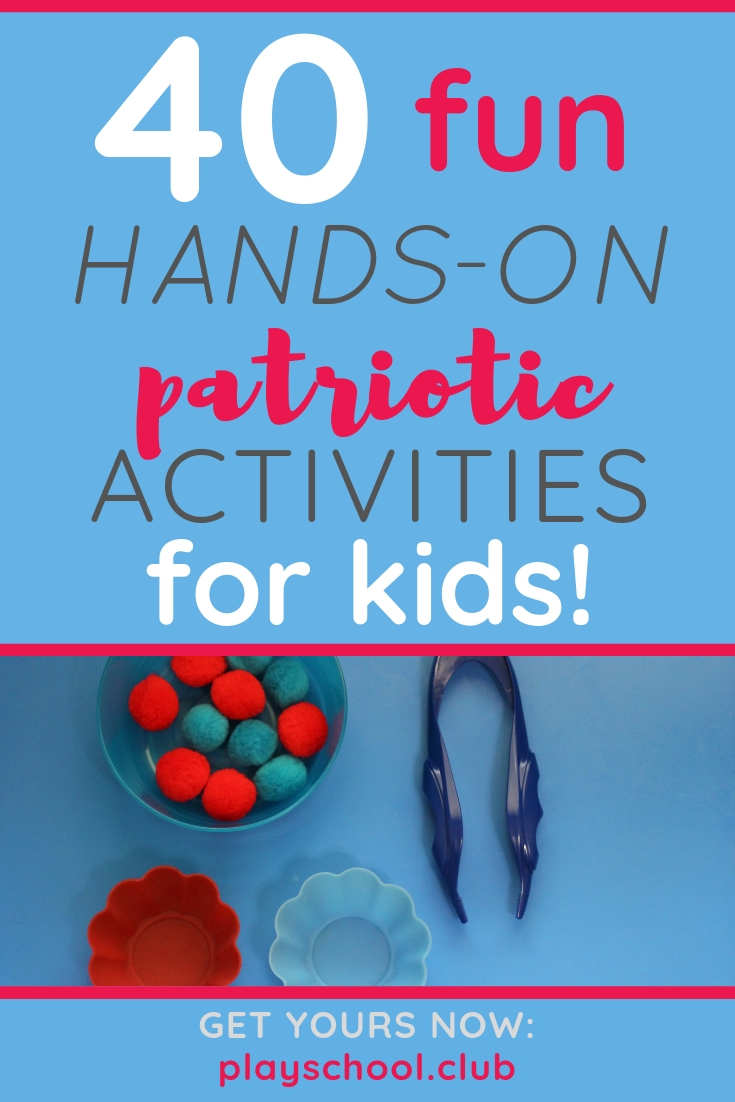 hands-on patriotic activities for kids