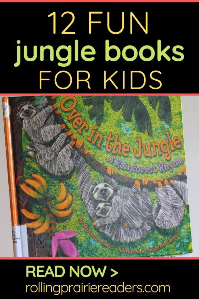 12 Fun Jungle Books for Kids