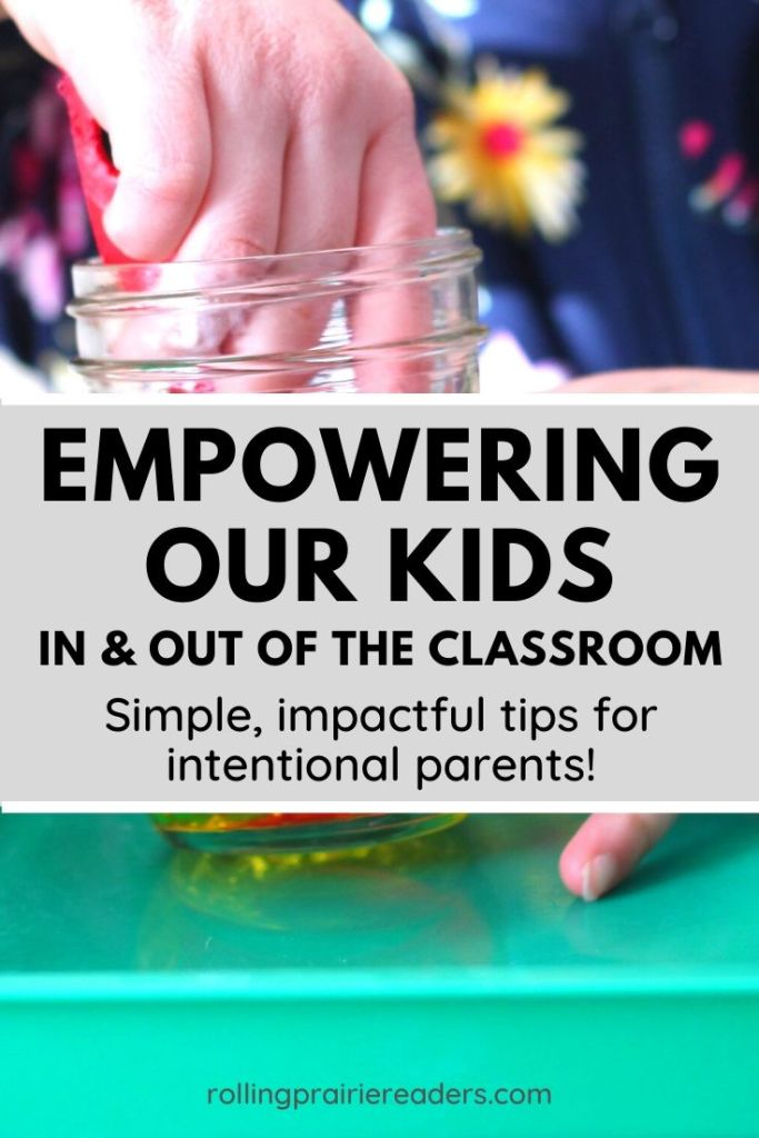 Empowering Kids in the Classroom