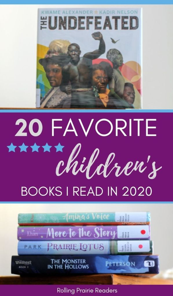 Favorite Childrne's Books from 2020