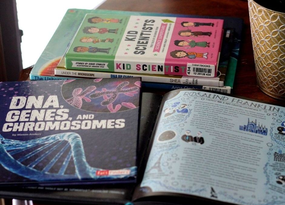 Children's Books About Rosalind Franklin and DNA