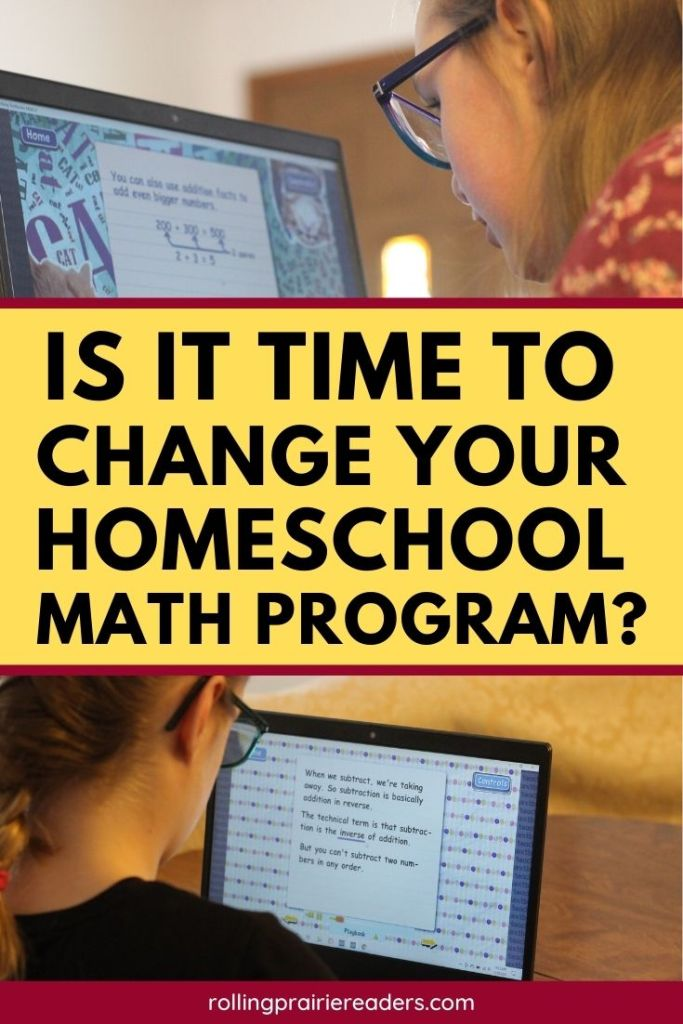 Is it time to change your homeschool math program?