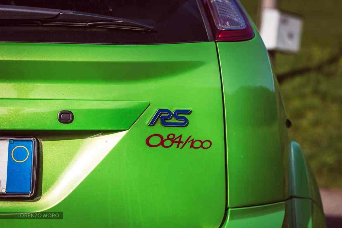 ford focus rs detail