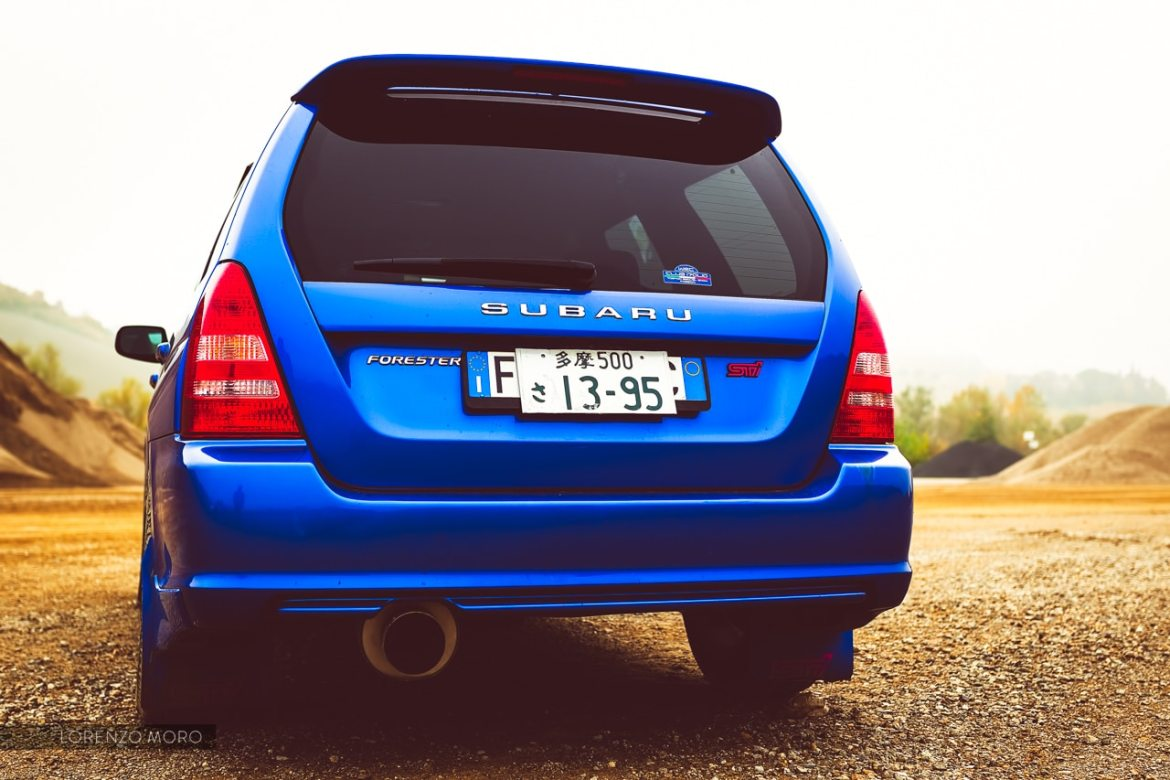 Forester STI  back