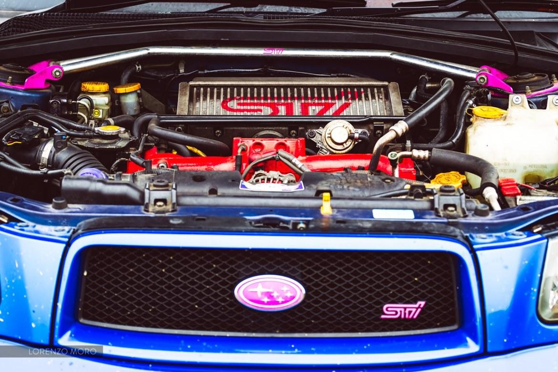 Forester STI motore