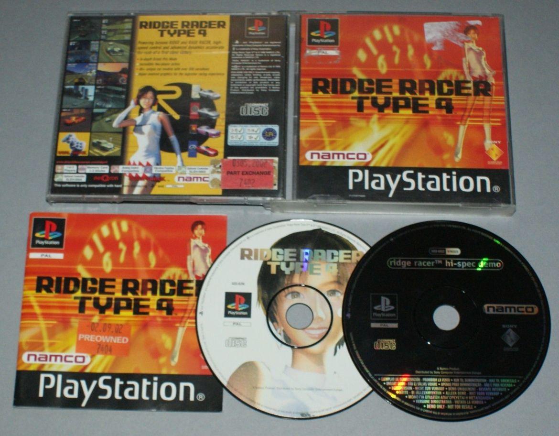 Ridge Racer Type 4 disco