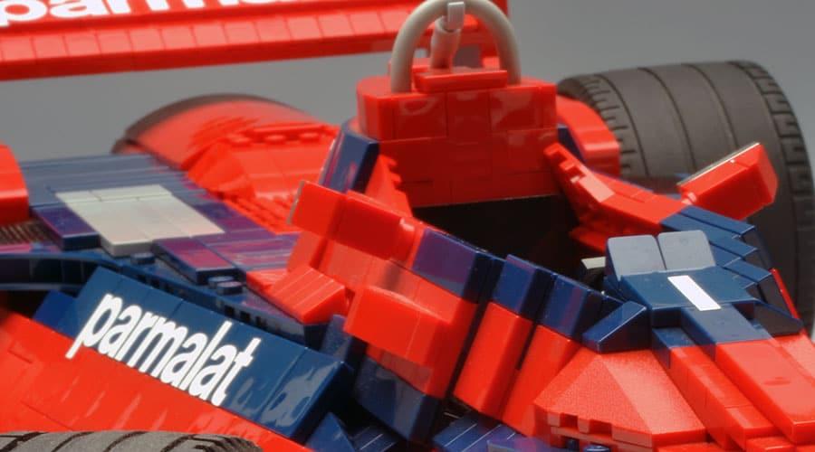 brabham bt46 lego detail