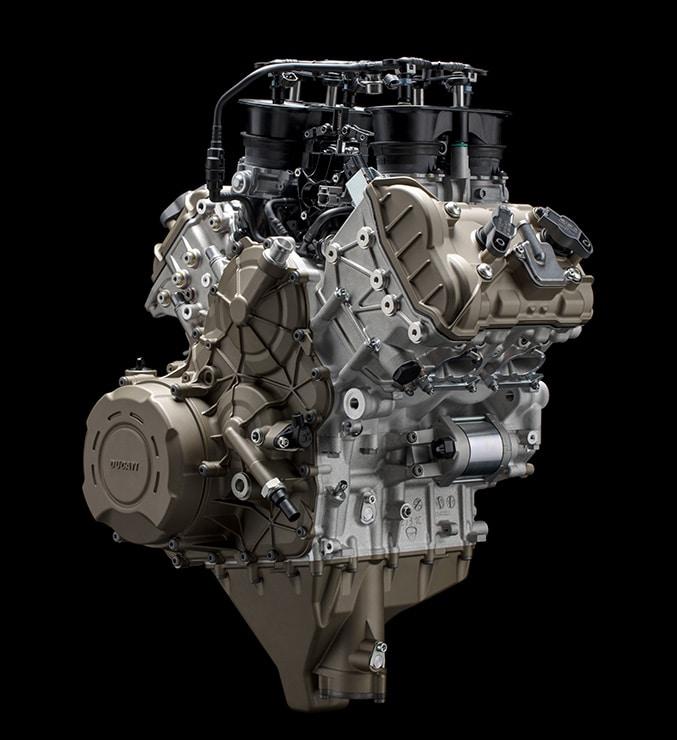 Ducati Panigale V4S motore