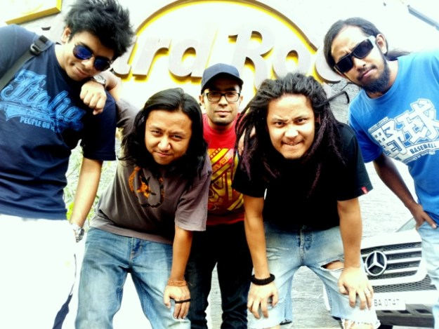 Kolkata funk rock band Gingerfeet