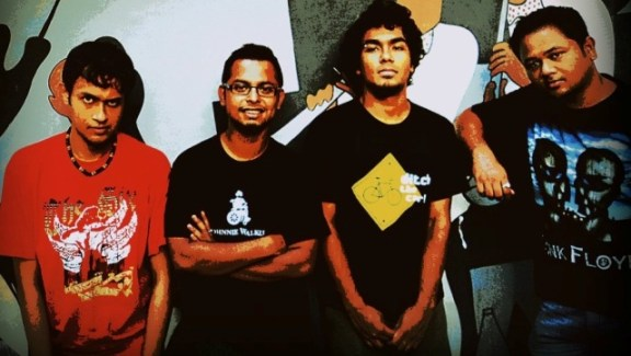 Chennai alt rock band Witchouse