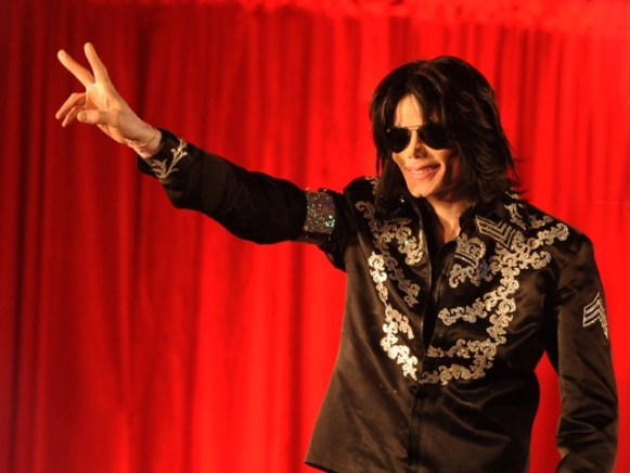 Michael Jackson  in London, 2009 Photo Credit: Rune Hellestad/Corbis