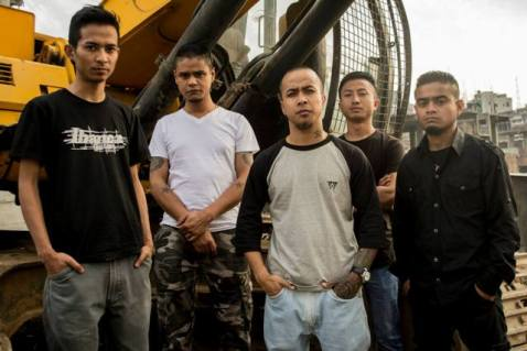 Shillong experimental metal band Aberrant  Photo: Gregory Ford Nongrum