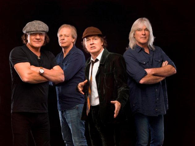 AC/DC in 2014. Photo: Courtesy of Sony Music India