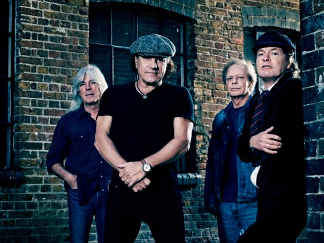 AC/DC - (from left) Cliff Williams, Brian Johnson, Stevie Young and Angus Young. Photo: courtesy of Sony Music India