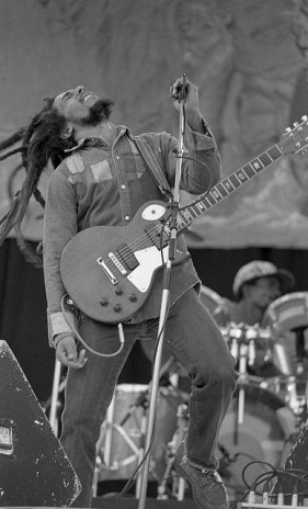 Bob Marley in 1980. Photo: Eddie Mallin/Flickr user Monosnaps/ Creative Commons Attribution 2.0 Generic