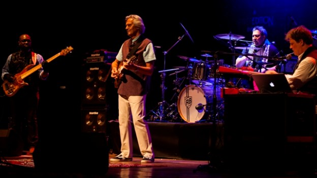 John McLaughlin and the 4th Dimension live in Mumbai. Photo: Courtesy of First Edition
