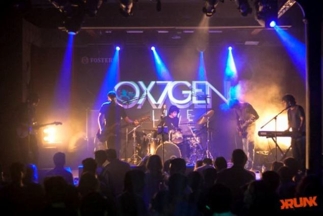 Ox7gen Live at Blue Frog, Mumbai. Photo: Mayur Sachade/Courtesy of KRUNK