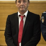 Former AC/DC drummer Phil Rudd at the District Court in Tauranga, New Zealand on April 21, 2015.  Credit: Marty Melville/Getty Images