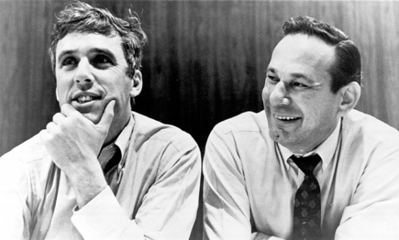 Burt Bacharach and Hal David. Photo courtesy of thewrap.com