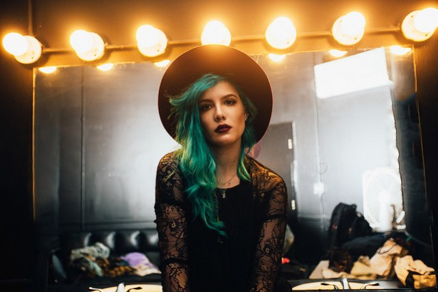Halsey. Photo by Lexie Alley.