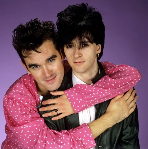 Morrissey and Marr. Photograph by Eugene Adebari / Rex Features/Eugene Adebari / Rex Features