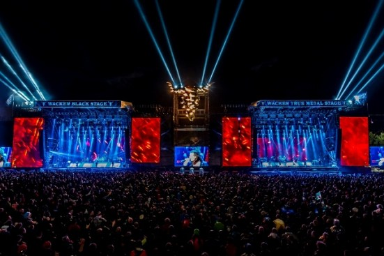 Almost 70,000 tickets for the Wacken Festival sell out on the day that sales open up, every year. This is the 26th edition of the festival in Germany. Photo:  ICS Festival Service GmbH