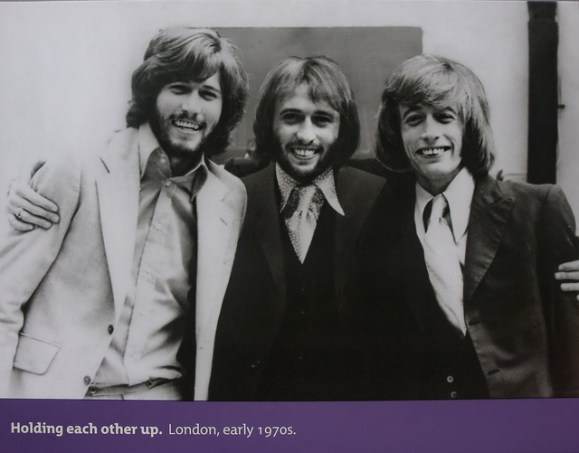The Bee Gees in the 1970s. Photo by Pindigi/Flickr