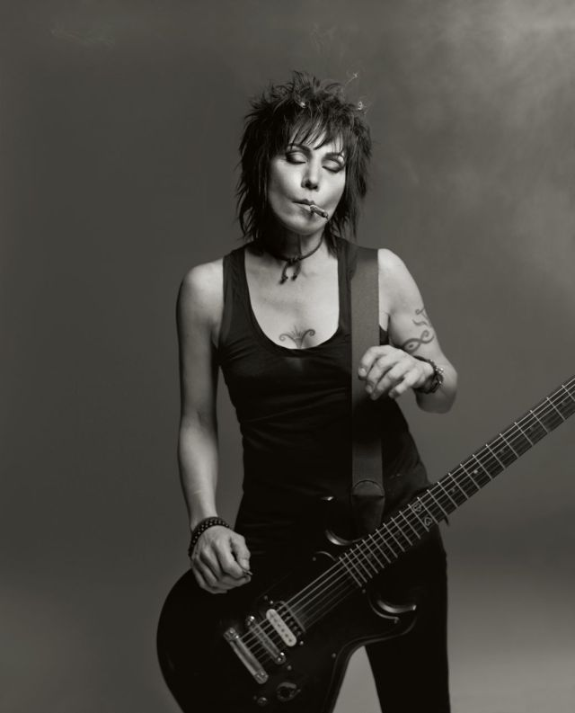 """Joan Jett says her Rock and Roll Hall of Fame career """"feels like a dream realized."""" Photo by Mark Seliger"""