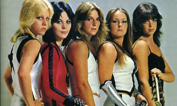 Cover of The Runaways' album 'Live In Japan.'