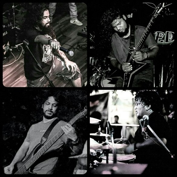 Systemhouse33 - (clockwise from top left) Samron Jude, Jack Thomas, Leon Quadros and Atish Thomas. Photo: courtesy of the band