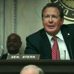 Garry Shandling as Senator Stern in the 'Iron Man' film franchise.