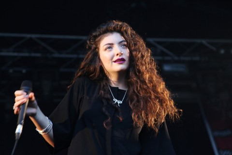 Lorde. Photo: Annette Geneva/Flickr