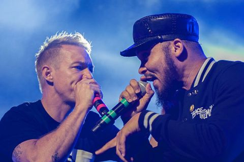 Diplo and Walshy Fire of Major Lazer. Photo: Kim Metso/Wikimedia Commons