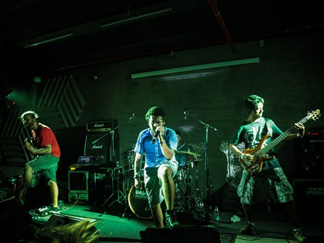 Reverrse Polarity at the second edition of metal series Roots in Mumbai. Photo: Bryan Jacob Daniel.
