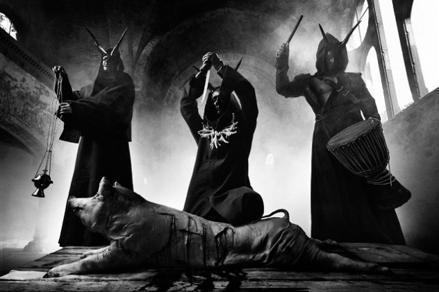 Polish blackened death metal band Behemoth will make their India debut at Deccan Rock 2016 in Hyderabad. Photo: Maciej Boryna