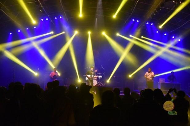 Yesterdrive live at the Orange Festival of Adventure and Music in Arunachal Pradesh. Photo: Nabam Tadi