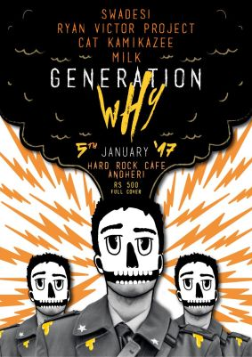 Generation WHY's entire concept is built around encouraging people to find new music through the genres they already love.