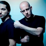 Erez Eisen (left) and Amit 'Duvdev' Duvdevani of Infected Mushroom.