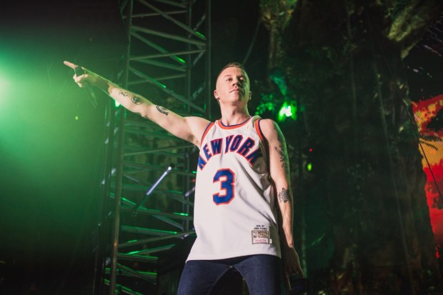 Macklemore performs at Vh1 Supersonic VH1 in Pune on February 11th, 2017. Photo: Mitsun Soni