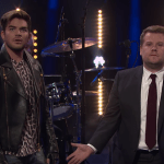 James Corden and Adam Lambert had a 'Late Late Show' showdown to see who should be Queen's singer, with Brian May and Roger Taylor judging.