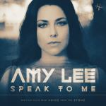 "Amy Lee ""Speak to Me"" single cover art."