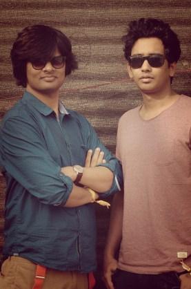 Diarchy - (from left) Gaurrav Tiwari and Prakash Rawat. Photo: Courtesy of the artist