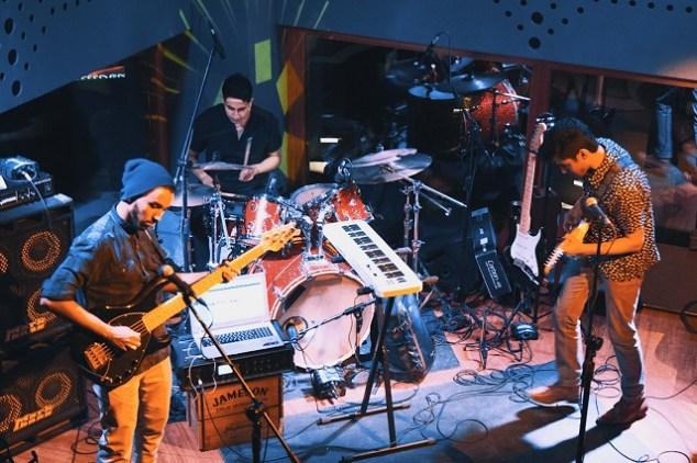 New Delhi alt rock band May Island. Photo: Mansi Pal