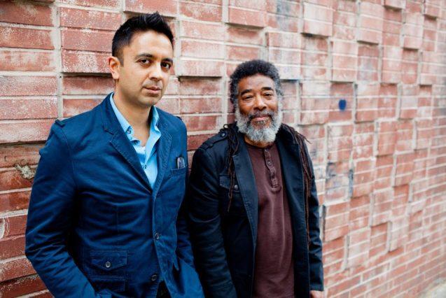 Iyer with recent collaborator Wadada Leo Smith. Photo: John Rogers