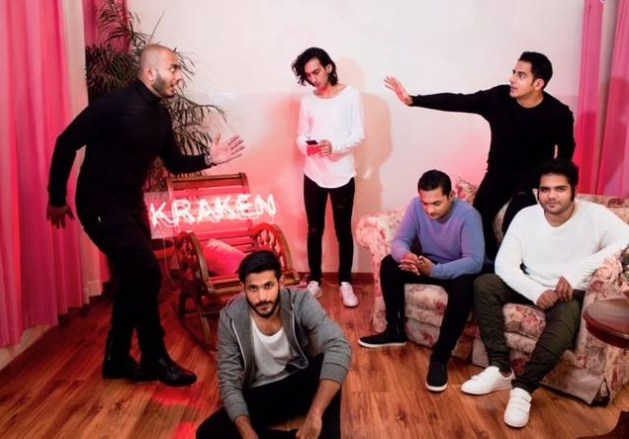 New Delhi rock band Kraken.