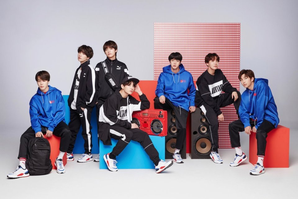 ac80ffbeed7b PUMA and BTS  RS-0 Sound is Now in India. The South Korean group s latest  collaboration ...