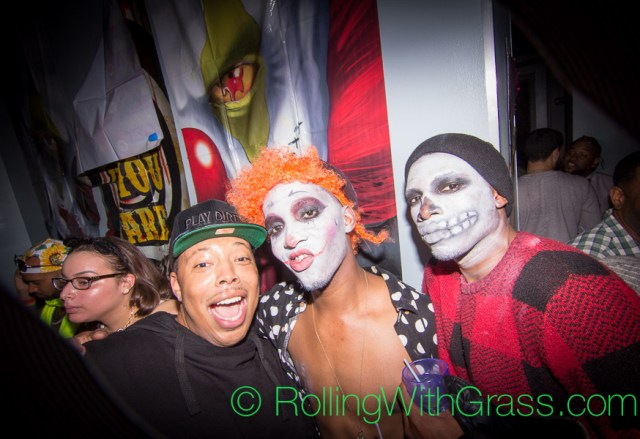 DR Dre and Sugar Skulls at Cobalt on Halloween Grass DC 2014