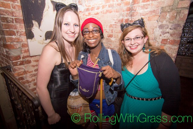 Young Ladies at Halloween Grass DC 2014
